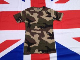 ## NEW ## FRENCH F2 STYLE CAMO T SHIRT